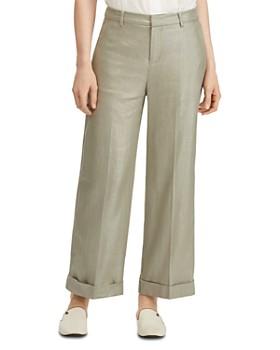 Ralph Lauren - Shimmery Wide-Leg Pants