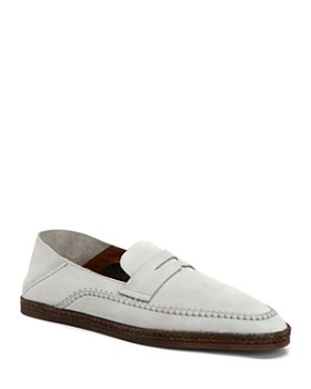 Aquatalia - Men's Nikita Suede Slip-On Penny Loafers