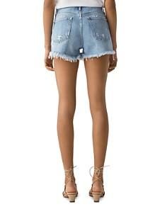 AGOLDE - Parker Vintage Cutoff Denim Shorts in Swapmeet