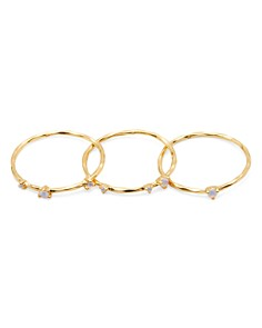 Gorjana - Cleo Stacking Rings