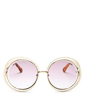 Chloé - Women's Round Sunglasses, 59mm