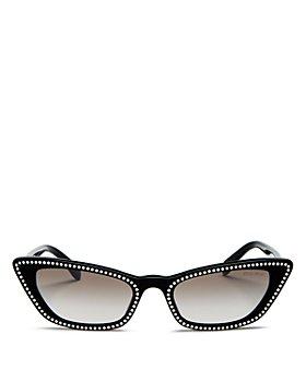 Miu Miu - Women's Cat Eye Sunglasses, 53mm