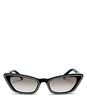 Miu Miu Women's Cat Eye Sunglasses, 53mm