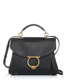 Salvatore Ferragamo - Margot Small Leather Satchel