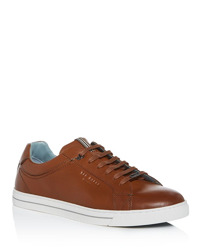 Ted Baker - Men's Thawne Leather Low-Top Sneakers