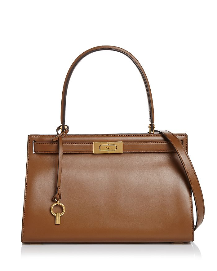 d88e758f0b57 Tory Burch Lee Radziwill Small Leather Satchel | Bloomingdale's