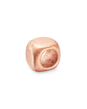 Dodo - Small Cube Rose Gold-Tone Component