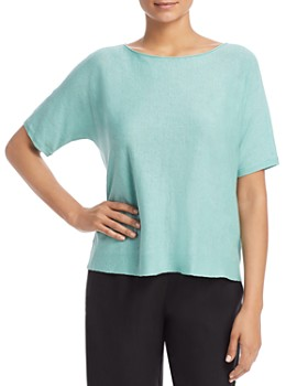 Eileen Fisher Petites - Boat-Neck Top