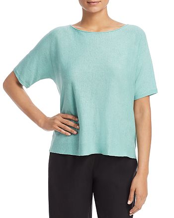 Eileen Fisher - Short-Sleeve Sweater