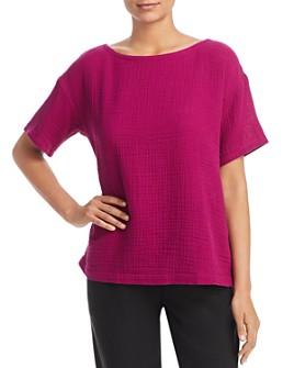 Eileen Fisher - Short-Sleeve Top