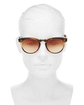 GARRETT LEIGHT - Women's Boccaccio Round Sunglasses, 50mm