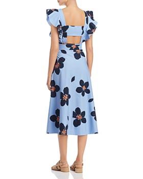 kate spade new york - Grand Flora Midi Dress