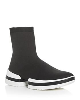 b57cdbc96 Stuart Weitzman - Women's Platform Sneaker Booties ...