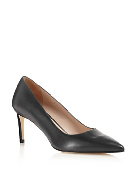 Stuart Weitzman - Women's Leigh Pointed-Toe Pumps