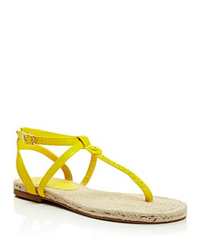 Jack Rogers - Women's Evie Leather Flat Thong Sandals