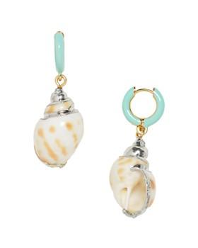 BAUBLEBAR - Kailua Shell Drop Earrings