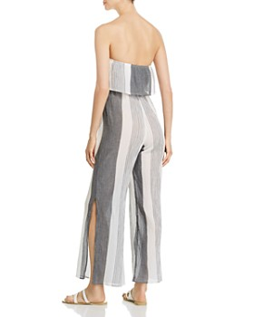 Elan - Strapless Wide-Leg Jumpsuit