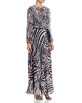 Escada Sport - Dyma Zebra-Print Maxi Dress