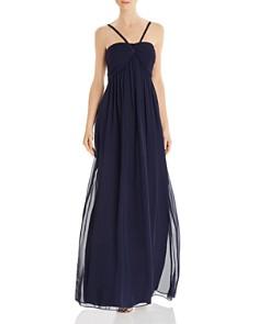 Eliza J - Shirred Goddess Gown