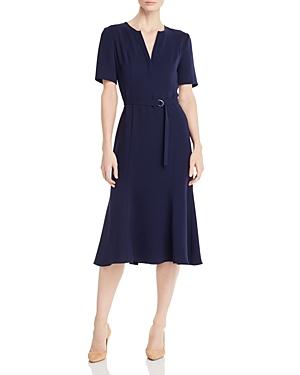 Vintage Dresses Australia- 20s, 30s, 40s, 50s, 60s, 70s Shoshanna Darcia Belted Dress AUD 435.46 AT vintagedancer.com