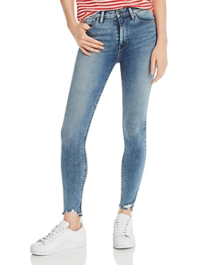 Hudson Jeans BARBARA HIGH-RISE SUPER SKINNY ANKLE JEANS IN RECHARGE