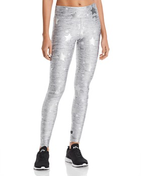 db49766f Terez - Foil Star Print Leggings ...