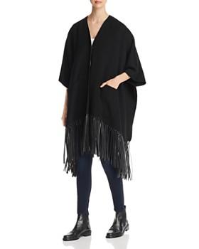 Weekend Max Mara - Carina Fringed Kimono-Sleeve Coat