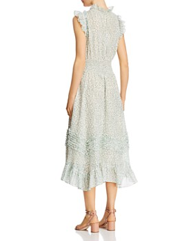 Rebecca Taylor - Ikat Leaf-Print Dress