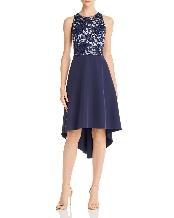 Aidan by Aidan Mattox - Embellished Crepe Dress