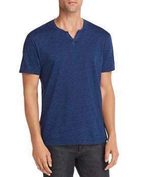 Mills Supply - Malibu Short-Sleeve Split-Neck Henley