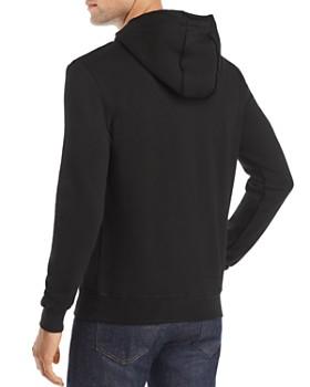 Antony Morato - Leaf-Embroidered Hooded Fleece Sweatshirt