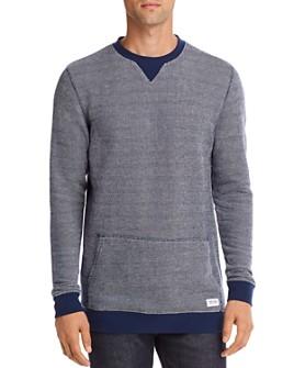 Banks Journal - Color-Block Birdseye-Knit Sweater