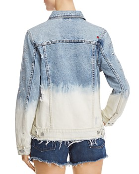 BLANKNYC - Dip-Dye Embroidered Denim Jacket - 100% Exclusive