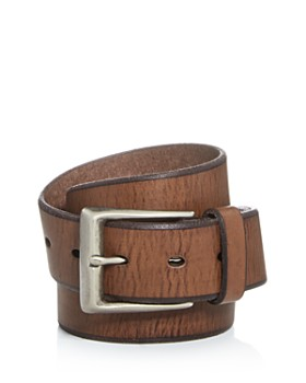 John Varvatos Star USA - Men's Bridle Leather Belt