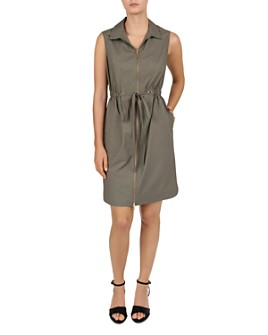 Gerard Darel - Gaby Zip-Front Dress