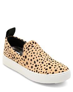 Dolce Vita - Women's Tag Leopard-Print Calf Hair Slip-On Sneakers