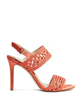KAREN MILLEN - Women's Woven High-Heel Sandals