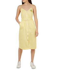 Ted Baker - Colour by Numbers Donana Striped Sundress