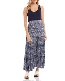 Karen Kane - Topanga Sleeveless Tiered Maxi Dress