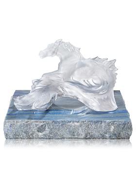 Lalique - Limited-Edition Poseidon's Horse Figure