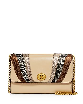 COACH - Marlow Wave Patchwork Convertible Crossbody Clutch