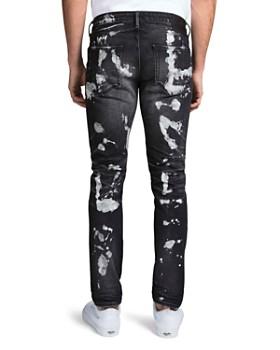 PRPS - Cleveland Windsor Bleached Slim Fit Jeans in Black