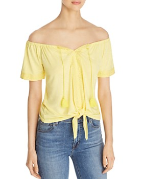 Design History - Off-the-Shoulder Top