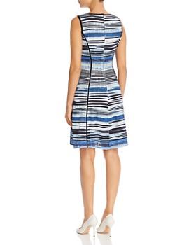 KARL LAGERFELD Paris - Sleeveless Printed Knit Dress