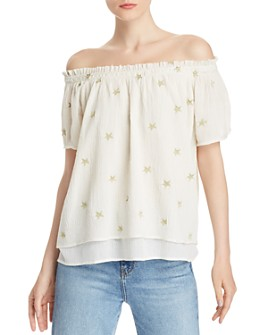 Generation Love - Cassidy Star Off-the-Shoulder Top