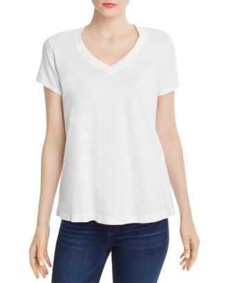V Neck Trapeze Tee by Wilt
