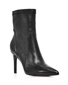 Charles David - Women's Laurent Pointed-Toe High-Heel Booties
