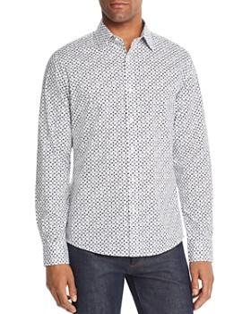 Michael Kors - Tile-Print Slim Fit Shirt