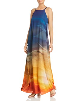Lafayette 148 New York - Leonissa Printed Maxi Dress