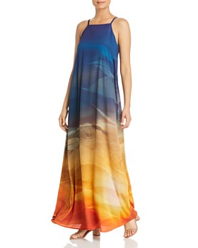 Lafayette 148 New York - Leonissa Printed Maxi Dress